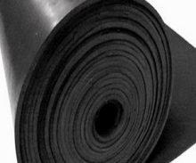Roll of Black EPDM Sheet