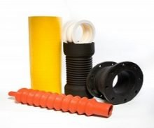 Fabricated Components Including Fabricated Rubber Sleeves