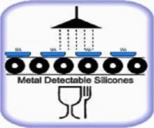 Metal Detectable Silicone Diagram