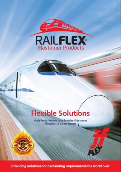 RAILFLEX Elastomer PJroducts exclusively from J-Flex