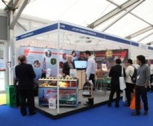 The Busy J-Flex Stand at Offshore Europe 2013
